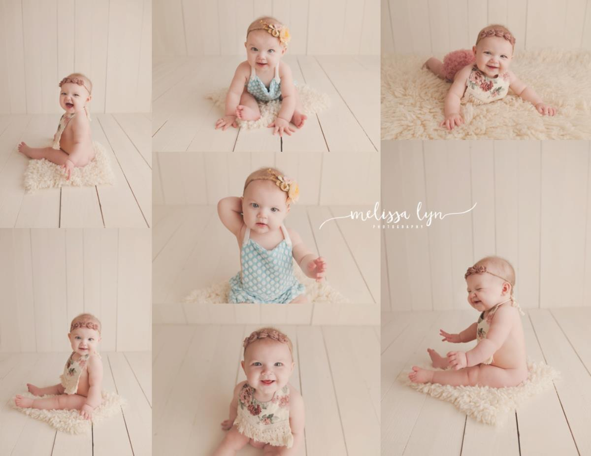 Baby Zoey, 6 month milestone session Temecula, Ca baby photography