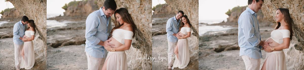 stunning laguna beach maternity session