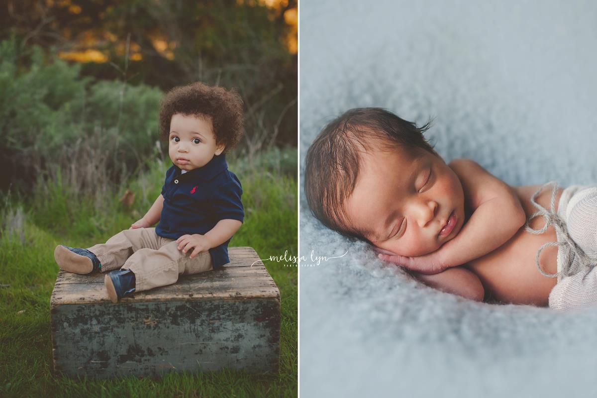Liam and Olivia, Temecula Baby photographer