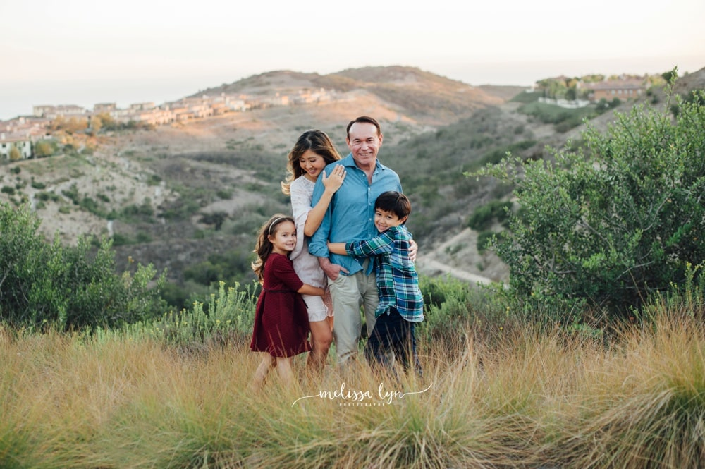 evans family - Newport Coast Family Photographer