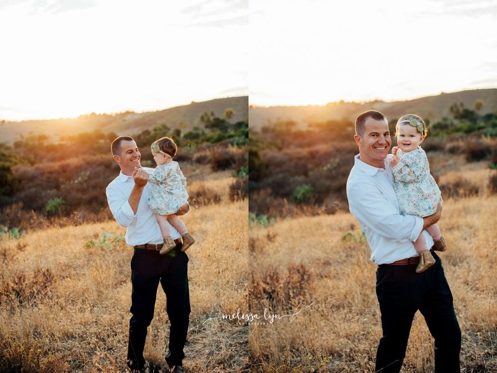 Family Photographer in Orange County, Orange County Baby Photographer, dad and baby photo
