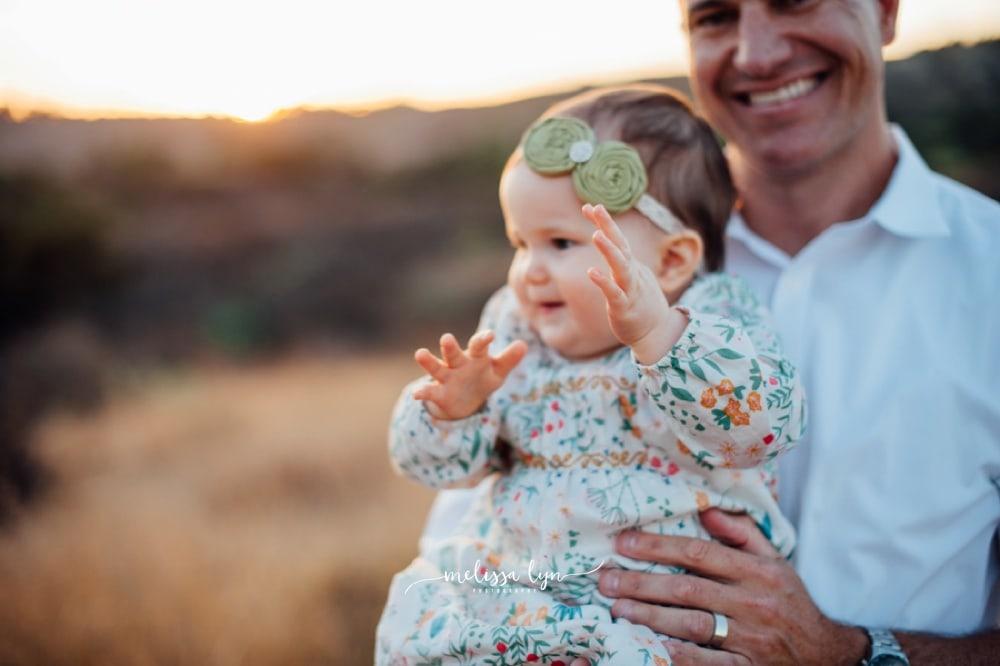 Orange County Family Photographer, Orange County Baby Photographer, dad and baby photo, Family Photographer in Orange County