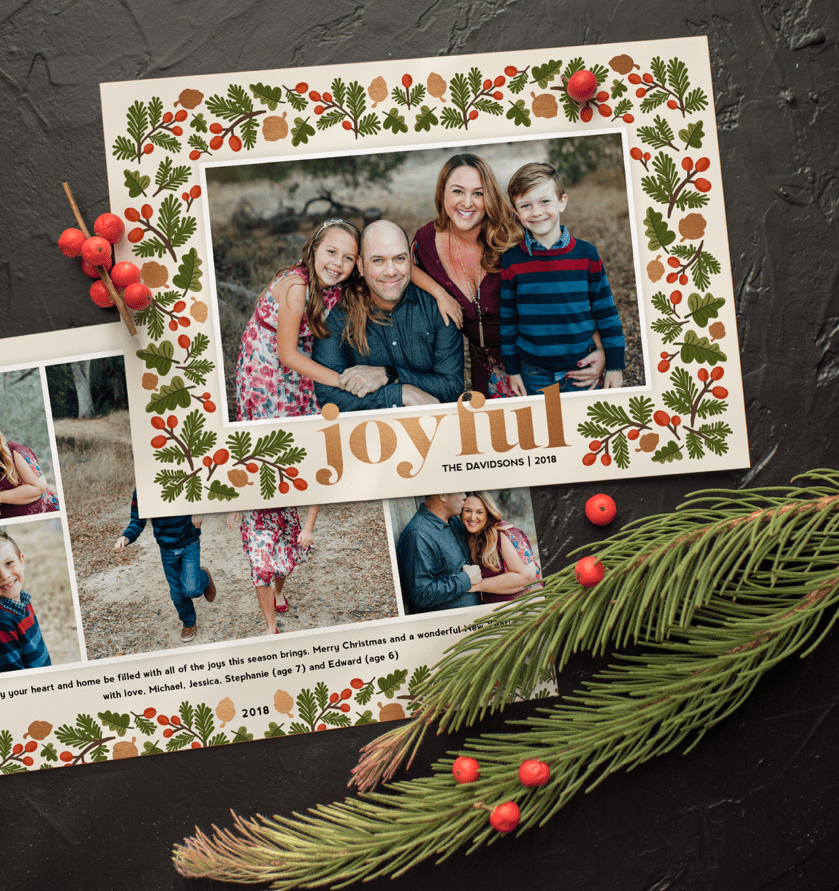 Temecula Family Photographer Holiday Card Catalog